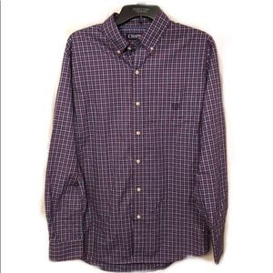 Brand New Chaps Easy Care Button Up Shirt